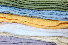Wash Cloth Stack Stock Image