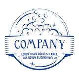 Wash company logo. Vector and illustration. vector illustration