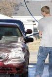 wash för bil 2 arkivbilder