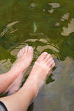 Wash feet Royalty Free Stock Photography