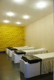 wash hair room Stock Photo