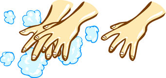 Wash Hands Stock Illustrations – 526 Wash Hands Stock ...