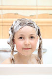 Wash the head Royalty Free Stock Photos