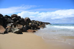 Wash House Beach Royalty Free Stock Images