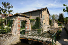 Wash house in Chevreuse in Ile de France Royalty Free Stock Images