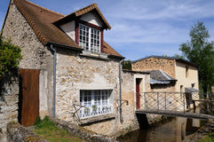 Wash house in Chevreuse in Ile de France Stock Photos