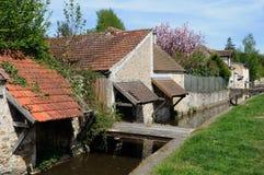 Wash house in Chevreuse in Ile de France Stock Photo