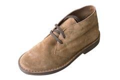 Wash-leather shoe Stock Image