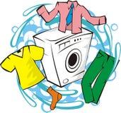 Wash service royalty free illustration