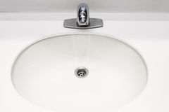 Wash sink in bathroom Royalty Free Stock Images