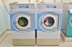 Wash in washing machines Stock Image