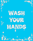 Wash your hands Stock Image