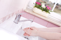 Wash your hands Royalty Free Stock Photos