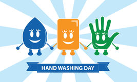 Wash Your Hands Royalty Free Stock Images