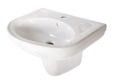 Washbasin. File includes clipping path Stock Photography