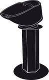 Washbasin dla fryzjerów Obrazy Royalty Free