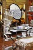 Washbasin do estilo velho Imagens de Stock Royalty Free