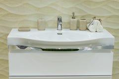 Washbasin. Royalty Free Stock Image