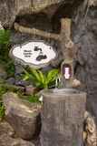 Washbasin in one of the parks, Thailand Stock Images