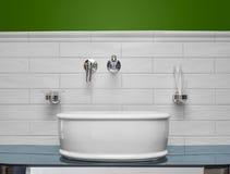 Washbasin w łazience Obrazy Stock