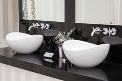 Washbasins Stock Images