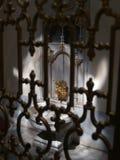 Washbowl histórico en el palacio de Topkapi, Estambul Imagen de archivo libre de regalías