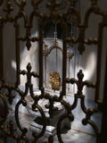 Washbowl histórico no palácio de Topkapi, Istambul Imagem de Stock Royalty Free