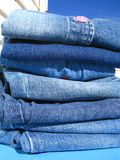 Washday blues royalty free stock images