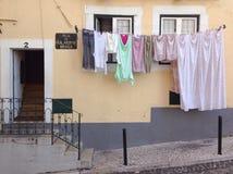 Washed cloth Stock Image