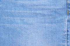 Washed denim texture as background Stock Images