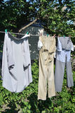 Washed garment Royalty Free Stock Photo