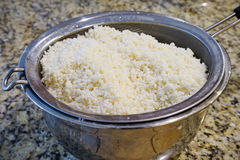 Washed glutinous rice Stock Photography