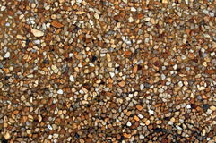 Washed gravel floor texture Stock Image