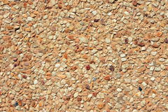 Washed gravel floor texture Stock Photo