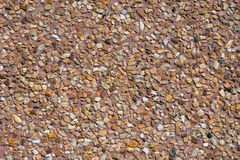Washed gravel floor texture Royalty Free Stock Photos