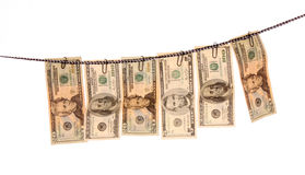 Washed money Royalty Free Stock Images