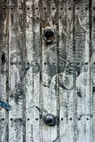 Washed out wooden door background Royalty Free Stock Images