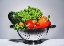 Washed vegetables Stock Photography
