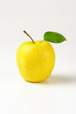 Washed yellow apple Stock Photos
