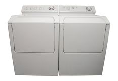 Washer And Dryer Royalty Free Stock Photo