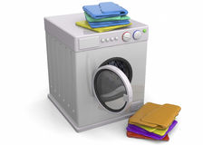 Washer - 3D Royalty Free Stock Image