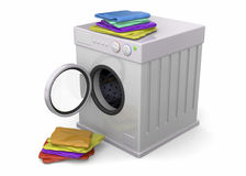 Washer - 3D Royalty Free Stock Photos
