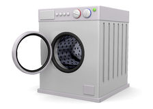 Washer - 3D Stock Image
