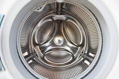 Washer inside. View throw door Stock Image