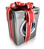 Washer with ribbon Stock Photography