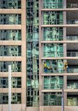 Washerman окна Стоковые Изображения