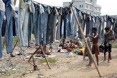 Washerman in Kolkata fotografie stock
