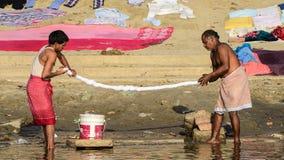 Washerman na Índia Imagens de Stock Royalty Free