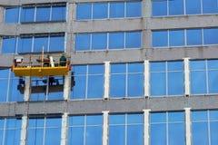 Washermen delle finestre immagine stock libera da diritti