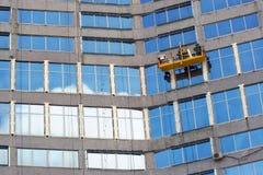 Washermen delle finestre Fotografia Stock Libera da Diritti